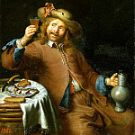 Slingeland, Pieter Cornelis van. Breakfast is a young man, part 11 Hermitage