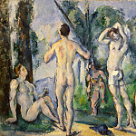 Cezanne, Paul. Bathers, part 11 Hermitage