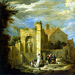 Teniers, David the Younger. Temptation of St. Anthony, part 11 Hermitage