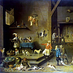 Teniers, David the Younger. Kitchen, part 11 Hermitage