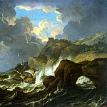 Tempesta Pietro. Storm at Sea, part 11 Hermitage