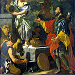 Solimena, Francesco. Rebekah at the Well, part 11 Hermitage