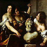 Strozzi, Bernardo. Allegory of the Arts, part 11 Hermitage