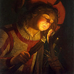 Stomer, Mathias. Boy with a torch, part 11 Hermitage
