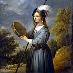 Teniers, David the Younger. Shepherdess, part 11 Hermitage