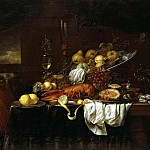 part 11 Hermitage - Son, Joris van. Lobster, oysters and fruits on the table