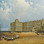 Sadovnikov, Vasily. View of the Winter Palace from the Admiralty, part 11 Hermitage