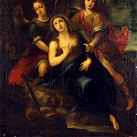 part 11 Hermitage - Solis, Francisco de. Mary Magdalene and Angels