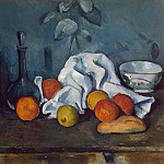 Cezanne, Paul. Fruit, part 11 Hermitage