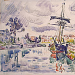 Signac, Paul. Sailing berth, part 11 Hermitage