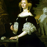 Tempel, Abraham van den. Portrait of a Woman, part 11 Hermitage