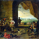Teniers, David the Younger. Karaulnaya, part 11 Hermitage