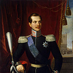 Schiavone, Natale. Portrait of Grand Duke Alexander Nikolaevich, part 11 Hermitage