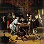 Steen, Ian. The game of backgammon, Jan Havicksz Steen