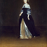 Terborch, Gerard. Portrait of Catarina van Leynink, part 11 Hermitage
