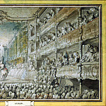 Saint-Aubin, Gabriel de. Submission of Armida in the old hall of the opera, part 11 Hermitage