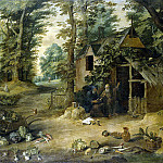 Teniers, David the Younger. Landscape, part 11 Hermitage