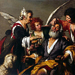 Strozzi, Bernardo. Healing of Tobit, part 11 Hermitage