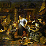 Steen, Ian. Marriage contract, Jan Havicksz Steen