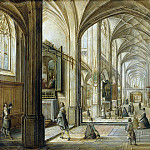 Stenveyk, Hendrik van the Younger. Interior of a Gothic church , part 11 Hermitage