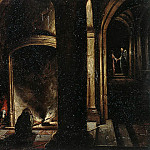 Stenveyk, Hendrick van the Younger. Liberation of the Apostle Peter from prison, part 11 Hermitage