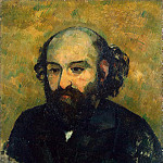 Cezanne, Paul. Self-portrait, part 11 Hermitage