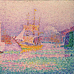 Signac, Paul. Harbour in Marseilles, part 11 Hermitage