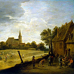 Teniers, David the Younger. Harvest, part 11 Hermitage