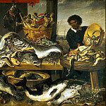 Snyders, Frans. Fish shop, Frans Snyders