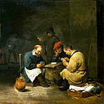 Teniers, David the Younger. A fast set, part 11 Hermitage