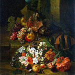 Sneyers Peter. Flowers, fruits and hedgehog, part 11 Hermitage