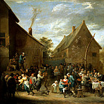 Teniers David Younger. Peasant Wedding, part 11 Hermitage