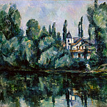 Cezanne, Paul. Banks of the Marne, part 11 Hermitage