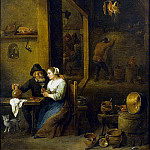 Teniers, David the Younger. The scene in the pub, part 11 Hermitage