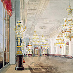 Sadovnikov, Vasily. Types of rooms in the Winter Palace. Nicholas Hall, part 11 Hermitage
