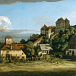 Bernardo Bellotto – Pirna: The Obertor from the South, Metropolitan Museum: part 3