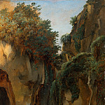 Édouard Bertin – Ravine at Sorrento, Metropolitan Museum: part 3