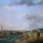 Metropolitan Museum: part 3 - Henri Joseph van Blarenberghe - The Outer Harbor of Brest