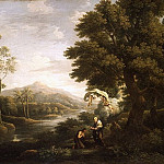 Jan Frans van Bloemen – Landscape with the Communion of Saint Mary of Egypt, Metropolitan Museum: part 3