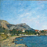 Beaulieu: The Bay of Fourmis, Eugene Boudin
