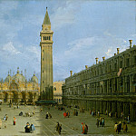 Canaletto – Piazza San Marco, Metropolitan Museum: part 3