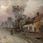 Metropolitan Museum: part 3 - Jean-Charles Cazin - The Route Nationale at Samer