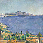 Paul Cézanne – The Gulf of Marseilles Seen from L'Estaque, Metropolitan Museum: part 3