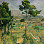 Mont Sainte-Victoire and the Viaduct of the Arc River Valley, Paul Cezanne