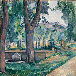 The Pool at the Jas de Bouffan, Paul Cezanne