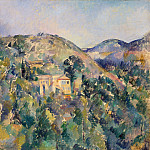 View of the Domaine Saint-Joseph, Paul Cezanne