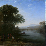 Claude Lorrain – The Ford, Metropolitan Museum: part 3