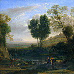 Metropolitan Museum: part 3 - Claude Lorrain (French, Chamagne 1604/5?–1682 Rome) - Sunrise