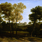 Metropolitan Museum: part 3 - Claude Lorrain (French, Chamagne 1604/5?–1682 Rome) - View of La Crescenza