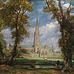 John Constable – Salisbury Cathedral from the Bishop's Grounds, Metropolitan Museum: part 3